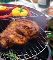 Рецепт Баранья лопатка на углях