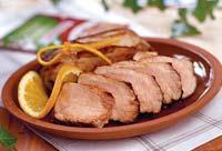 Рецепт Свиное филе на решетке