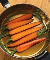 Рецепт Морковь в медовой глазури