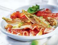 Рецепт Цикорий, запеченный с тимьяном и беконом