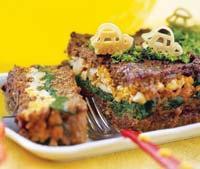 Рецепт Мясной рулет со шпинатом