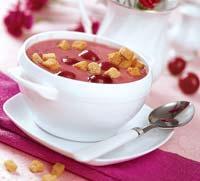 Рецепт Черешневый суп с красным вином