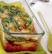 Рецепт Очень быстрая вегетарианская мусака