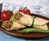 Рецепт Тортильи с говядиной и миндалем