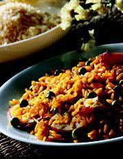 Рецепт Курица-барбекю с жареным рисом