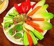 Рецепт Тапенад с овощами