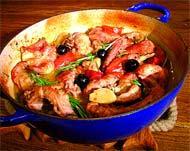 Рецепт Кролик с оливками