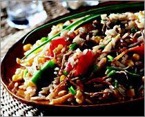 Рецепт Рис с овощами по-вьетнамски