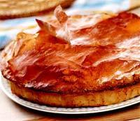 Рецепт Картофельный пай с моцареллой и салями