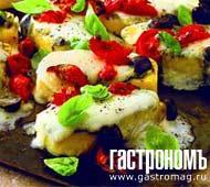 Рецепт Полента с томатом, сельдереем и сыром