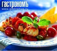 Рецепт Карри из трески и помидоров