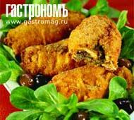 Рецепт Котлета по-киевски с помидорами