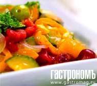 Рецепт Рататуй с виноградом
