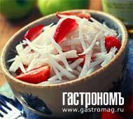 Рецепт Летний салат с клубникой