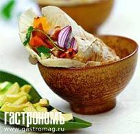 Рецепт Фахитос из курицы, приготовленные на гриле