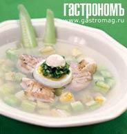 Рецепт Холодный суп из ревеня