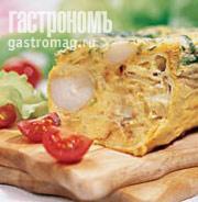 Рецепт Фриттата (омлет) с молодым картофелем и сыром