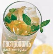 Рецепт Шипучий мятный чай