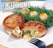 Рецепт Зразы с луком, яйцом и яблоком