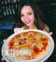 """Рецепт Пицца """"Эсмеральда"""" от Теоны Дольниковой"""