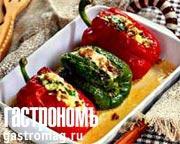 Рецепт Перец, фаршированный овощами