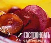 Рецепт Свекла со сливой и яблоками