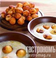 Рецепт Сырники с маково-сметанным соусом