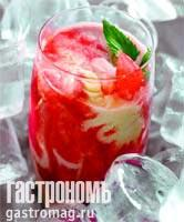 Рецепт Сорбе из арбуза