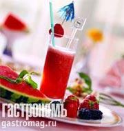 Рецепт Коктейль из арбуза