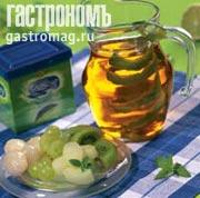 Рецепт Фруктовый салат с зеленым чаем