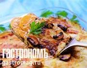 Рецепт Запеканка из картофеля с грибами и сыром с голубой плесенью