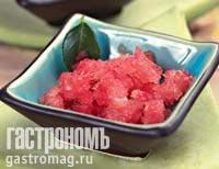 Рецепт Арбузное сорбе