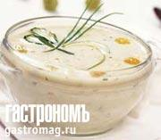 Рецепт Холодный виноградный суп