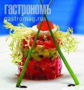 Рецепт Тартар из тунца с авокадо