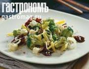 Рецепт Брокколи c грибами и миндалем