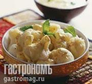 Рецепт Цветная капуста с йогуртовым соусом