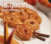 Рецепт Оладьи из абрикосов с подливкой из манго с корицей