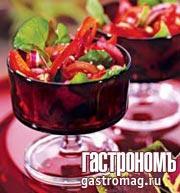 Рецепт Салат в багряных тонах