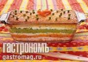"""Рецепт Творожная запеканка """"Три цвета"""""""