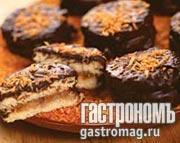 Рецепт Бисквитные пирожные с грушами