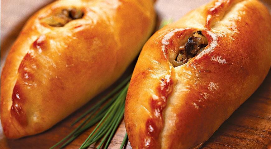 Рецепт Расстегаи с грибной начинкой