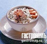 Рецепт Дикий рис с морепродуктами