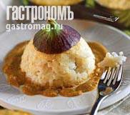 Рецепт Индонезийский рисовый десерт с кокосовым кремом