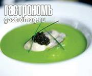 Рецепт Суп из кресс-салата с устрицами