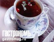 Рецепт Чай с клюквой и мятой