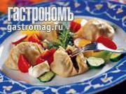 Рецепт Огурджалинские манты (с рыбой)