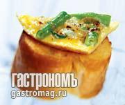 Рецепт Тортилья с зеленой фасолью