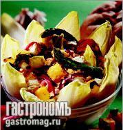 Рецепт Салат из поленты и спаржи