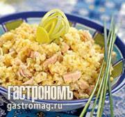 Рецепт Пшенная каша на курином бульоне