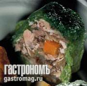 Рецепт Холодец в савойской капусте